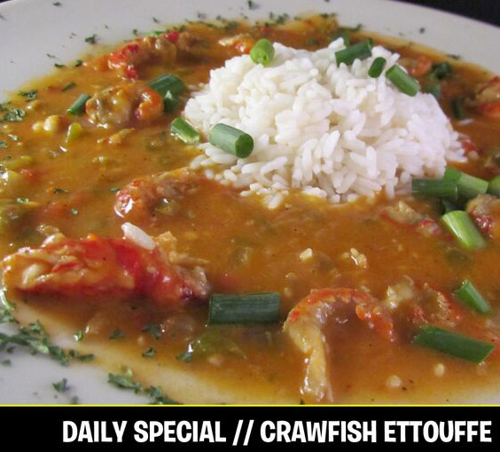 crawfish ettouffe